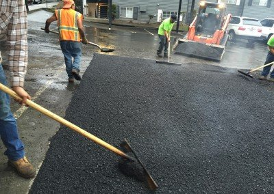 Asphalt Patching at Apartment Complex
