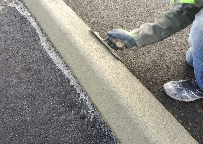 New Curbing