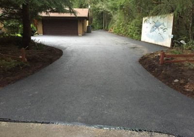 Architectural Asphalt Driveways