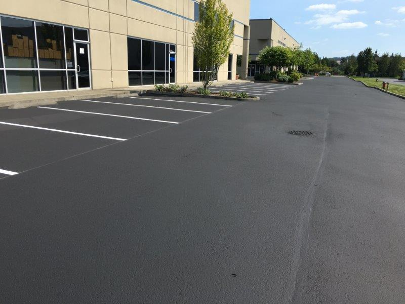 Large New Parking Lot