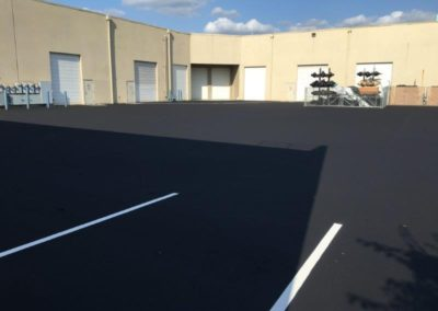 Warehouse Striping and Paving