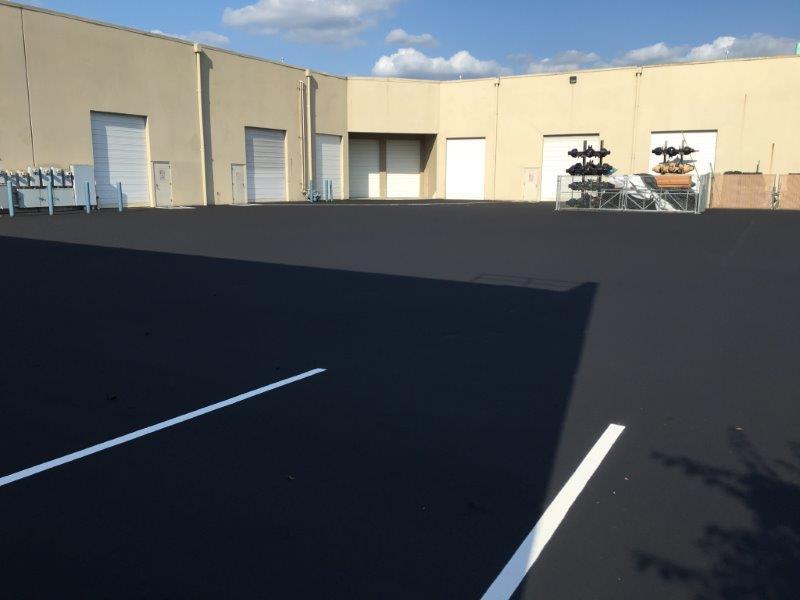 Warehouse Striping and Paving