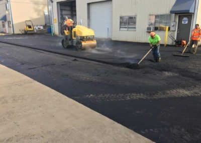 Laying and Compacting Asphalt