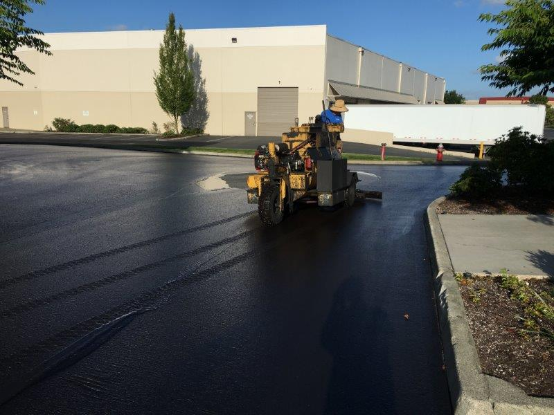 Sealcoating Parking Lot