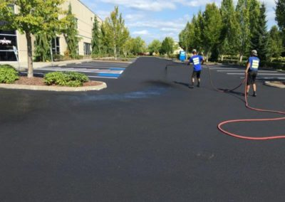 Sealcoating Business Parking Lot