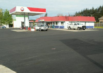 Asphalt Repair at Gas Station