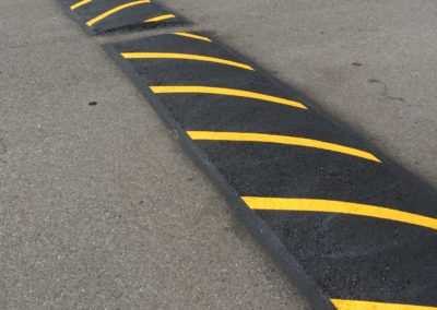 Speed Bump Installation in Puyallup
