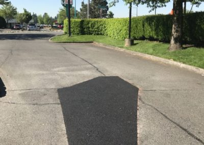 Asphalt Patching at McDonald's in Tacoma