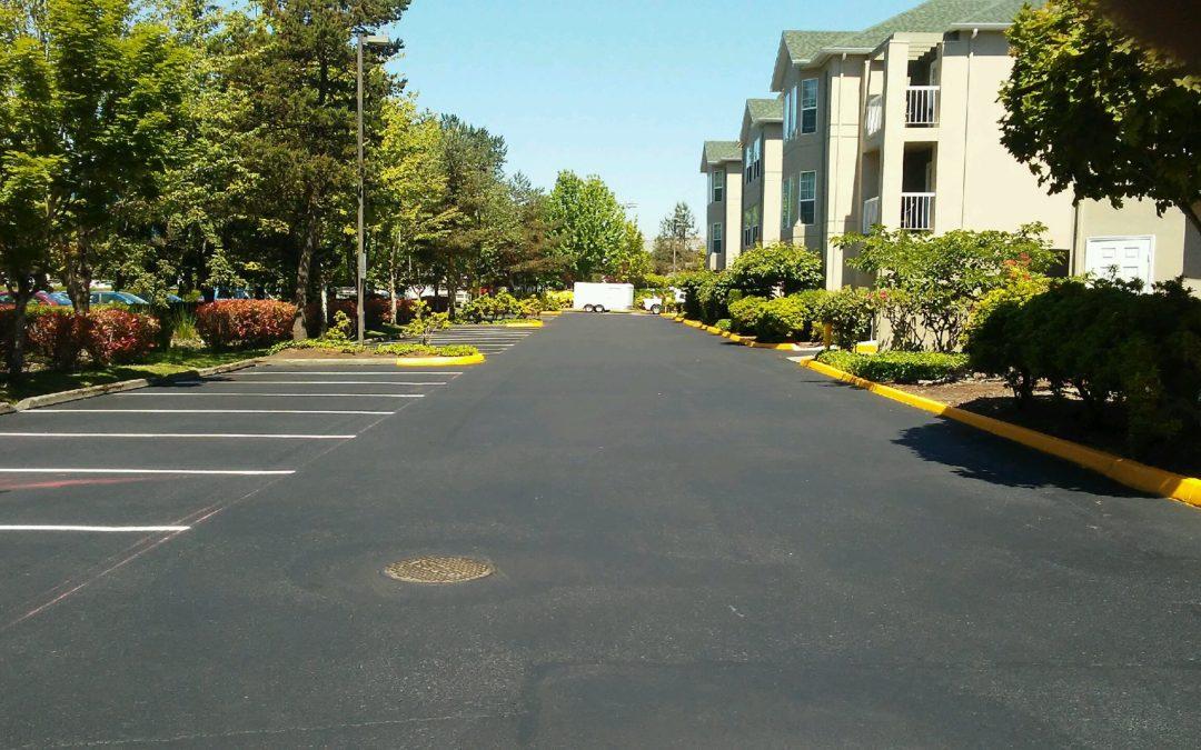 Sealcoat and Stripe of Homewood Suites Hotel in Tukwila